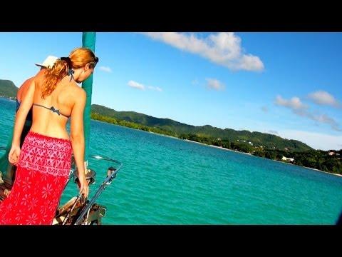 CARIBBEAN Sailing - Up Island Sailing Adventure - Day 1