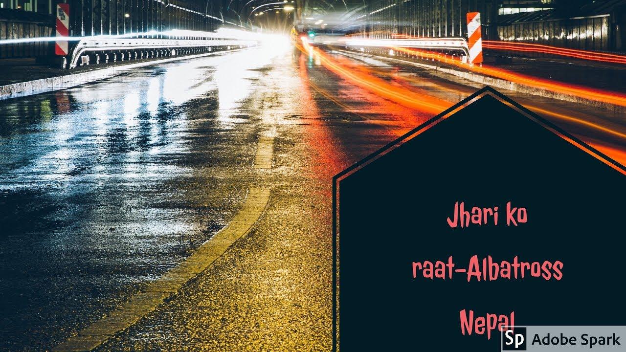 albatross-jhari-ko-raat-cover-karaoke-lyrics-instrumental-guitar-cover-evill-hunter