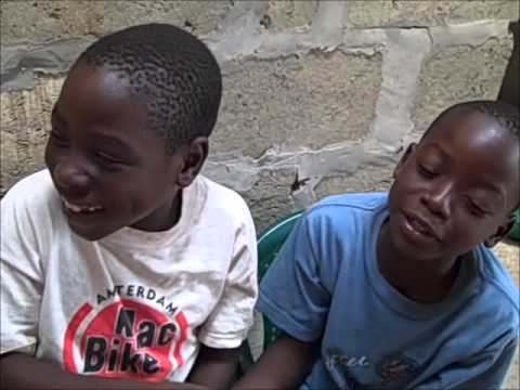 Laughing Children in Zambia