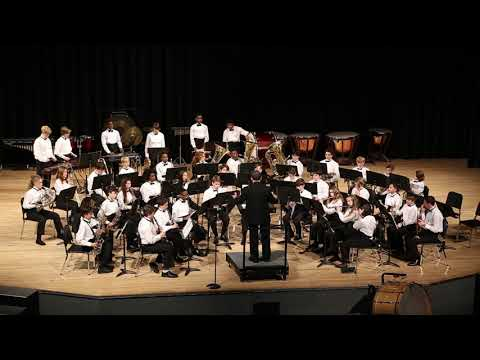"""Maitland Middle School Wind Ensemble 2018 """"Set of Early English Airs"""""""