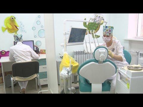 В Волгограде модернизировали лечебно-профилактическое отделение детской стоматологии № 2