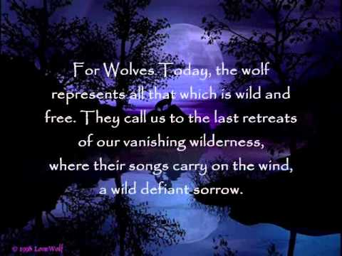 LOPING WOLF  The Wolf    Mary Youngblood