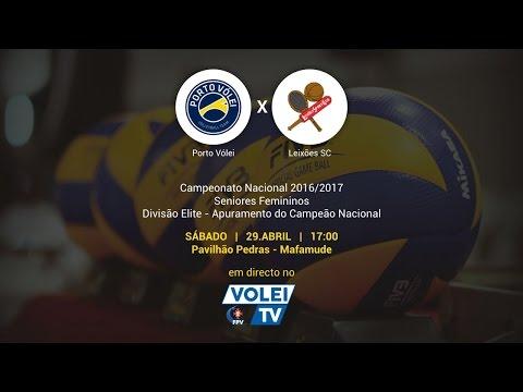 Porto Vólei vs Leixões SC - 2º Jogo Apuramento Campeão Nacional Divisão de Elite Seniores Femininos