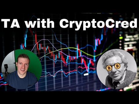 Crypto Technical Analysis with CryptoCred - His approach to
