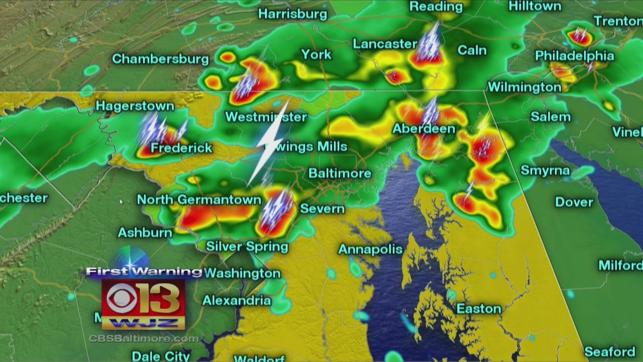 Maryland weather: Severe storms move quickly through Maryland ...