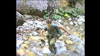 Izviđanje četničkih položaja iznad rijeke Ljute prema Kalinoviku