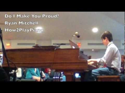 Taylor Hicks: Do I Make You Proud | Piano Performance