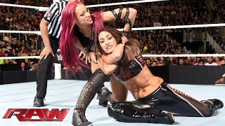 Brie Bella vs. Sasha Banks: Raw, November 30, 2015