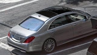 Spied! 2014 Mercedes-Benz S-Class Caught Fully Uncamouflaged 2 Months Ahead of Debut
