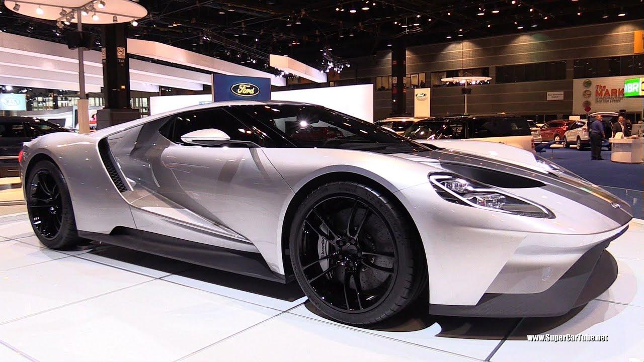 2017 ford gt exterior walkaround 2015 chicago auto show