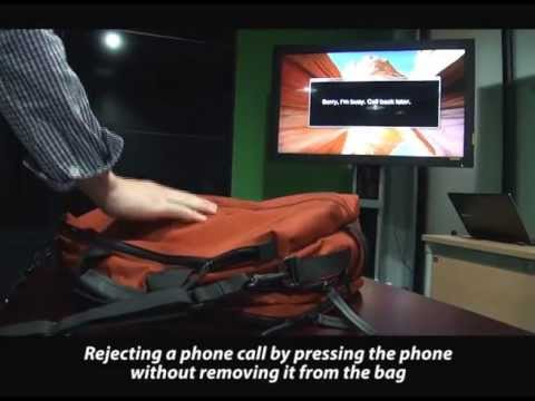VibPress: Estimating Pressure Input Using Vibration Absorption on Mobile  Devices
