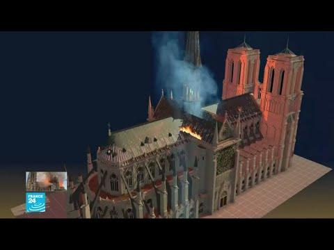 إعادة بناء ما تهدم من كاتدرائية نوتردام..تحد أمام المعماريين  - 15:55-2019 / 4 / 17