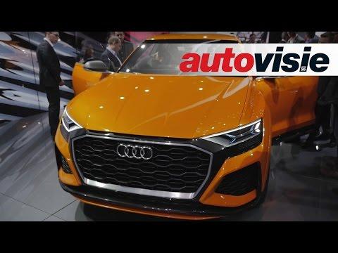 Genève 2017: Audi Q8 sport concept kan een boeiende productie-SUV worden - by Autovisie TV