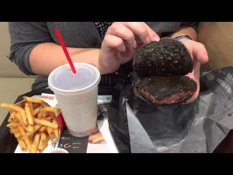"Burger King Japan's Black ""Kuro Burger"""