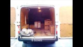 Short Transit Load by Diamond Movers London to Scotland Small Removals(A short video showing how much stuff you can fit inside a short transit van for moving flat in London up to Scotland., 2013-11-19T15:09:09.000Z)