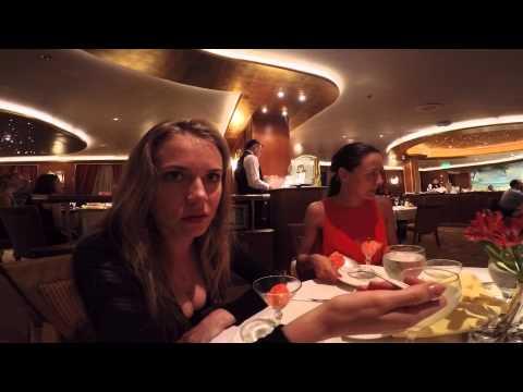 Русские в Круизе #8 - Вечер с Капитаном и Ресторан