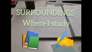 Surroundings where I study thumbnail
