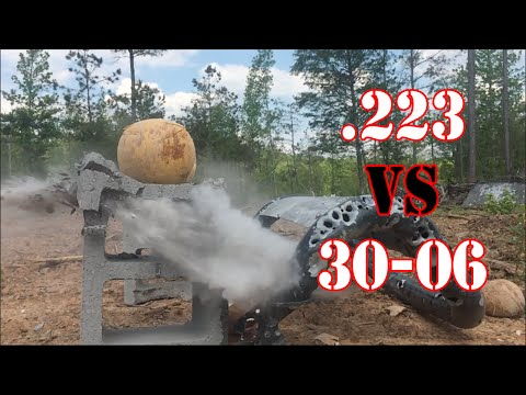30-06 vs .223 Penetration Test
