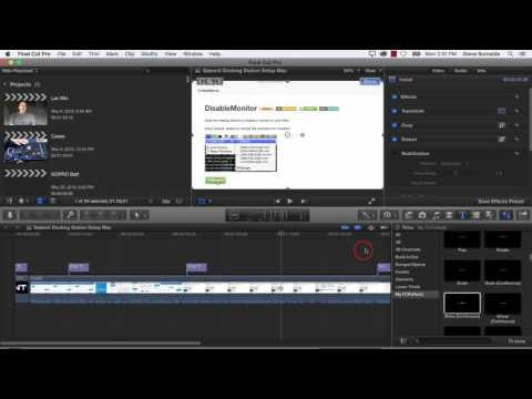 How To Export A Video To MP4 in Final Cut Pro X Mpeg4 FCPX