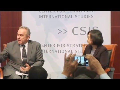 蔡英文美國華盛頓DC精彩訪談(含問與答) Tsai Ing-wen: 2016: Taiwan Faces the Future Interview (including Q&A)