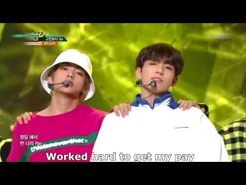 BTS 고민보다 Go (Go Go) Stage MIX [Eng Sub]