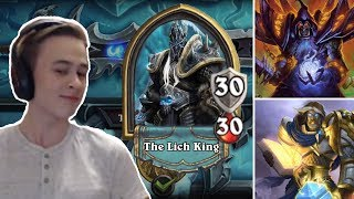 Hearthstone: Defeating The Lich King - Paladin and Warlock