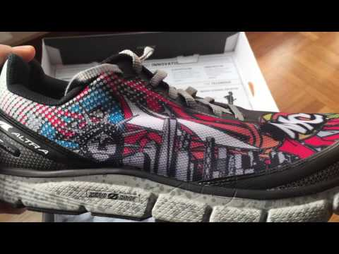 Altra Torin 2.5 New York NYC: Unboxing