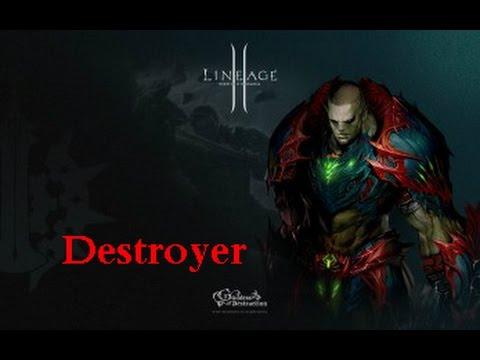 Lineage 2 ДО ПЕРВОГО КРИТА! Destroyer Fun Movie л2 хф  High Five