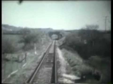Bridport to Maiden Newton by train in 1975