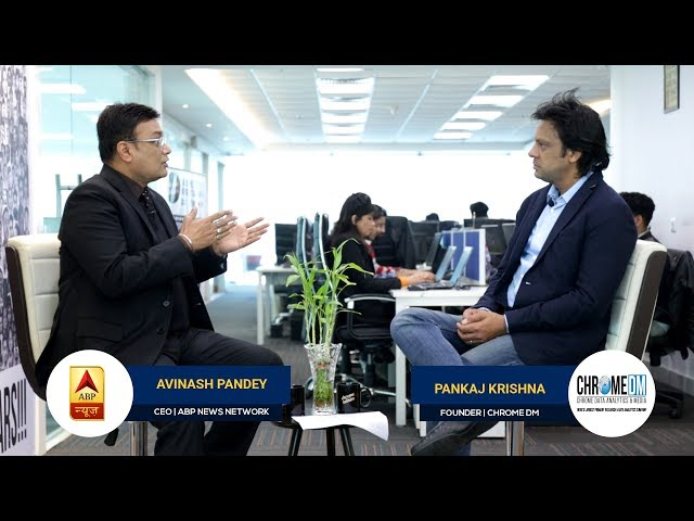 Chrome Talkies Episode 10 - Avinash Pandey, CEO | ABP NEWS Network