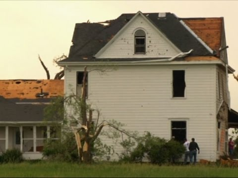 Kansas Residents Clean Up, More Storms Forecast