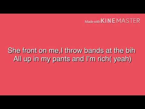 6ix9ine  RONDO  lyric video