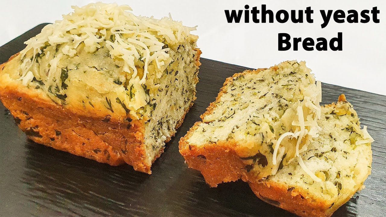 homemade bread without yeast recipe no yeast bread eggless ...