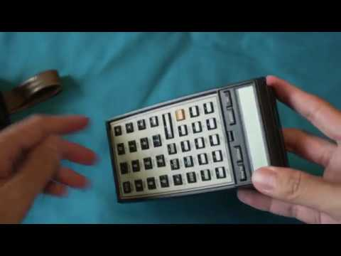HP-41CX Operation - Program Bar Code Input & Thermal Printer Plot