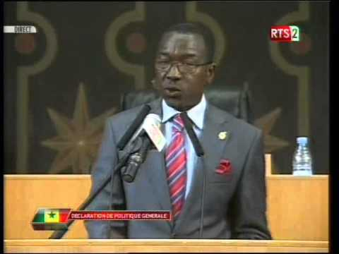 Vidéo DPG: Questions de Amamadou Lamine Thiam (Député)