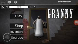 I escape from that oma (granny roblox)
