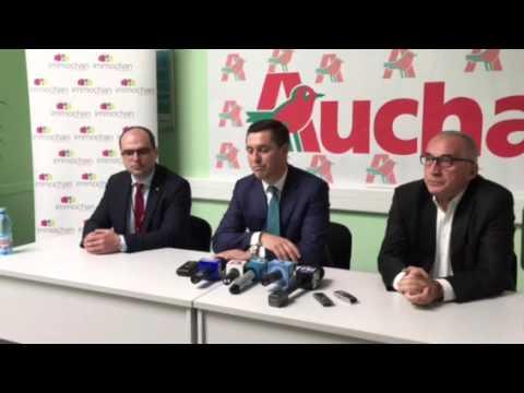 Auchan promite ca va construi cinci sali de cinematograf