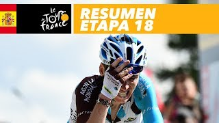 Resumen Etapa 18 Tour De France 2017 Youtube