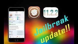 ios 11.2 ,11.2.1 , 11.2.2  , 11.2.X jailbreak update!!! | Coolstar patches working.