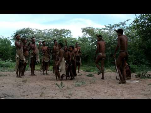 San Bushmen Dance Namibia