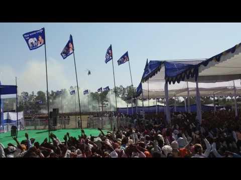 Mayavati in Robertsganj sonebhadra up 1.3.2017