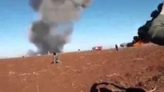 Сирия Авиаудар ВКС РФ по нефтевозам ДАИШ !