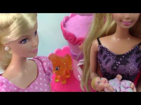 It S A Girl Barbie Doll Collectors Pink Teddy Bear New Born Baby Mattel Unboxing Toy Review