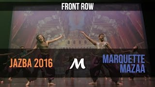Marquette Mazaa  Jazba Entertainment 2016 Official Front Row