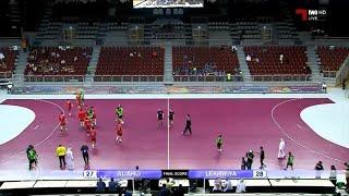 المباراة كاملة / لخويا 28-27 الأهلي [ الدوري الوطني لكرة اليد15/14]