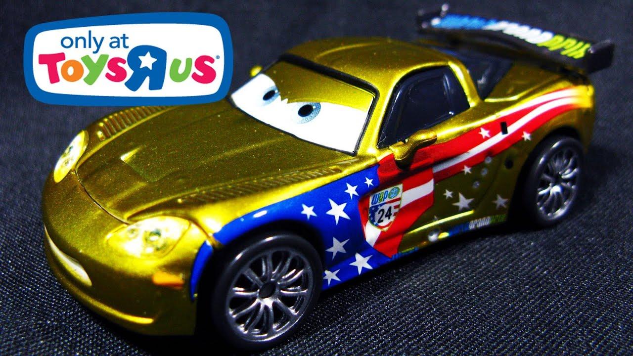 Jeff Gorvette With Metallic Finish Ransburg Cars 2 Toys Quot R