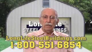 World's Oldest Spokesperson, Spokesman, For Longlife Steel Buildings