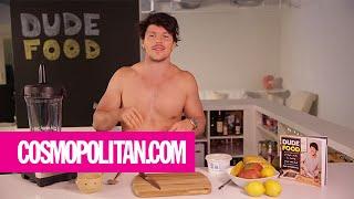 Sexy Shirtless Chef, Dan Churchill, Makes Mango Sorbet | Cosmopolitan
