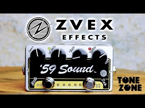 The NEW Zvex '59 Sound pedal demo with vintage 1968 Gibson Es335