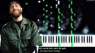Nimo - KEIN SCHLAF feat. Hava | Piano Cover | Instrumental Karaoke, Lyrics